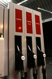 Die Dieselpreise in Erfurt macht die Markttransparenzstelle zugänglich.