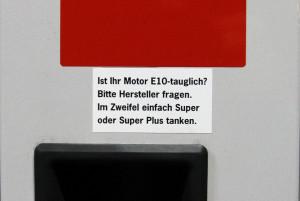 Die E10-Verträglichkeit ist nicht bei jedem Auto gegeben.